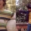 <h3>Splitscreen: le petit garçon (Julien Clerc) chez sa mère d'un côté, chez son père de l'autre</h3>