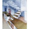 <h3>Perspective - projet de réhabilitation des anciens locaux Point P Quai de Valmy (75010)(aujourd'hui le point Ephémère) en résidence étudiante</h3>