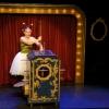<h3>Le cadre de scène et la boîte de Jador (peinture Lucie Legrand)</h3>
