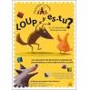 <h3>Affiche «Loup y es-tu?» exposition à la Maison des Contes et des Histoires (75004)</h3>