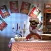 Episode la Guerre des Pizzas, ici chez Gerard voisins
